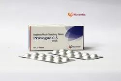 Voglibose 0.3 mg and Metformin 500 mg (Sustained Release) Tablets