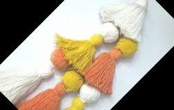 MM Handicraft Assorted Tassels, Size: 6 Inches