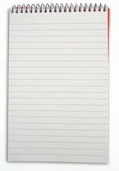 White short hand notebook, For College