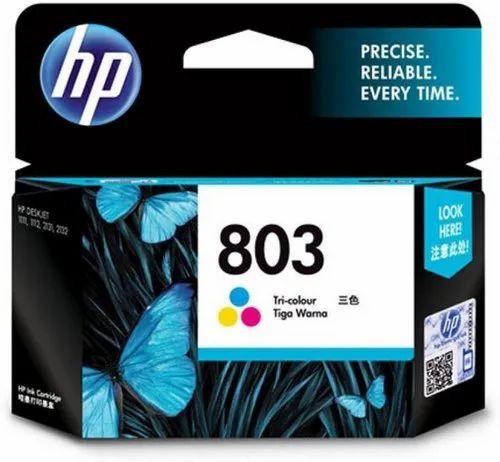 HP 803 Tri Color Ink Cartridge  (Magenta, Cyan, Yellow)