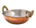 Serving Copper Kadai