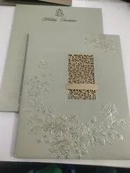 Cardboard Book Style Exclusive wedding cards