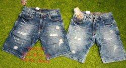 Mens Faded Shorts