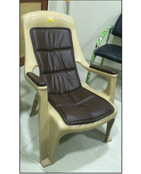 Cushioned Relax Plastic Chair