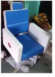 Royal Blue Barber Chair