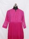 Ladies Tie Dye Rayon Kurti