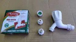 PVC Bib Cock Foam Flow, Packaging Type: Single Piece Packing