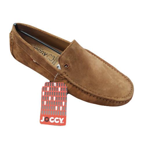 Joggy Brown Mens Loafer Slip On Shoes