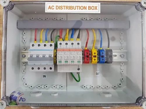 Polycarbonate AC Distribution Box, IP Rating: 66