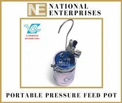 Portable Pressure Feed Pot