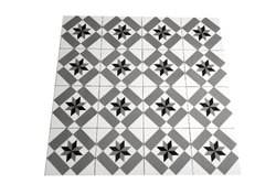 Cross Line Sandblast Tiles