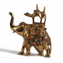 golden decorative elephant
