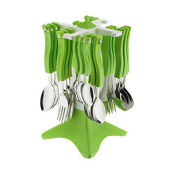 Spoon And Fork Set With Stand