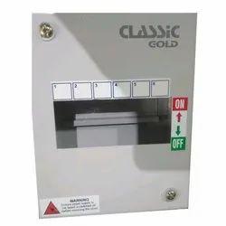 Classic Gold Galvanized Iron (GI) MCB Box