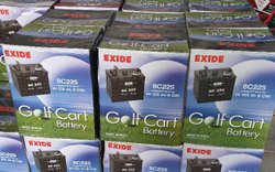 Exide Electric Car Battery