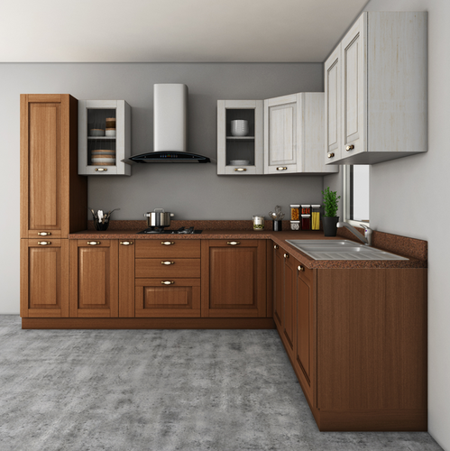 Read More · L Shape Classic Kitchen