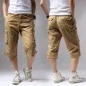Cotton Made In Africa Mens Capri Shorts