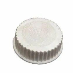 White PVC Table Fan Blade Lock Nut, Size: 4 Mm(diameter)