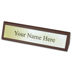 Nameplates for Office