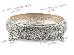 Silver Plated Antique Urli