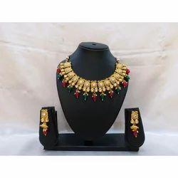 Brass Bridal Jewelry Set