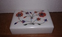 Marble Gift Box Handmade Floral Arts Decor & Crafts