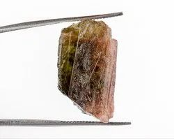 24 Cts Watermelon Tourmaline Raw Crystal Gemstone Rough