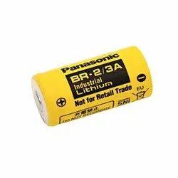 BR-A Panasonic Lithium Poly Carbon Monofluoride Battery
