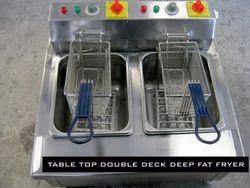 Table Top Double Deep  Fryer