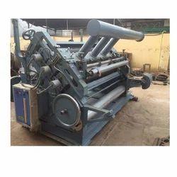 Semi-Automatic Super Nataraja Double Profile Fingerless Corrugation Machine