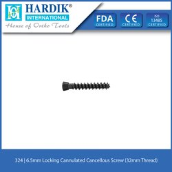 6.5mm Locking Cannulated Cancellous Screw (32mm Thread)