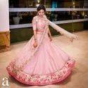 Net Bridal Lehenga Choli