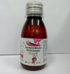 Olspas P Susp (Mefenamic With Paracetamol Susp)