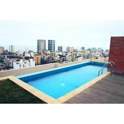 Rooftop Swimming Pool For Residential Apt Fountains Id 15804510691