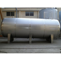Horizontal Stainless Steel Tanks