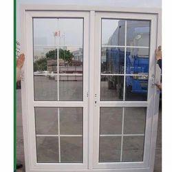 Plain Glass Star Lock Upvc windows