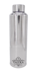 Taluka Exports Silver Stainless Steel Water Bottle