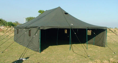 Pyramid Canvas Military Tent & Pyramid Canvas Military Tent Rs 72000 /piece Bharat Tent ...