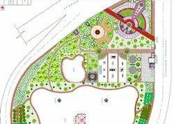 Back Yard Business/Commercial Landscape Designing Service