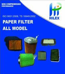 Hilex Air Paper Filter for Honda Dream Yoga
