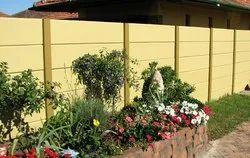 Garden Curbing RCC Readymade Compound Wall