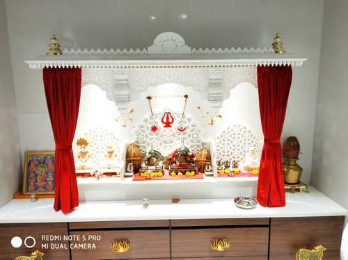 White Marble Home Temple Rs 250000