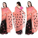 Supernet Aari Work Sarees