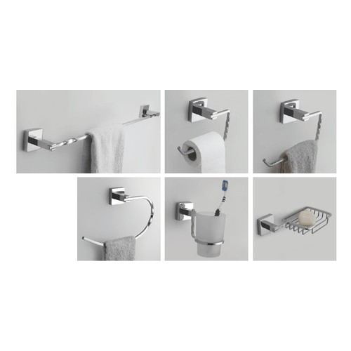 Topaz Brass bathroom hardware set