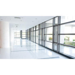 Aluminum Frame Glass Fitting