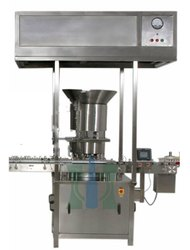 Four Stroke Vial Cap Sealing Machine