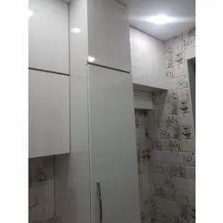 Wood White Modular Cabinet