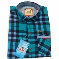 Cotton Stylish Check Shirt