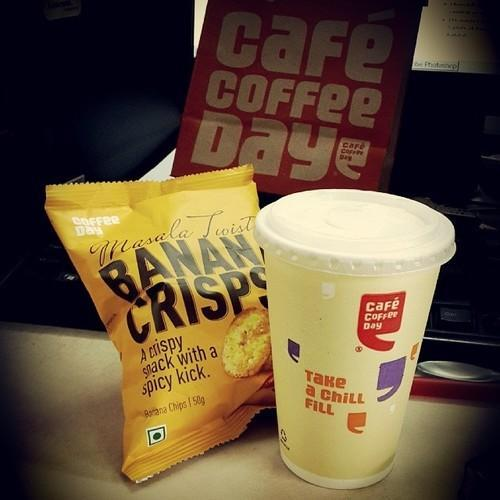 Cafe Coffee Day Banana Crisps, COFFEE DAY GLOBAL LIMITED ...