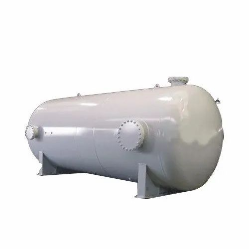Horizontal Stainless Steel Industrial Tank